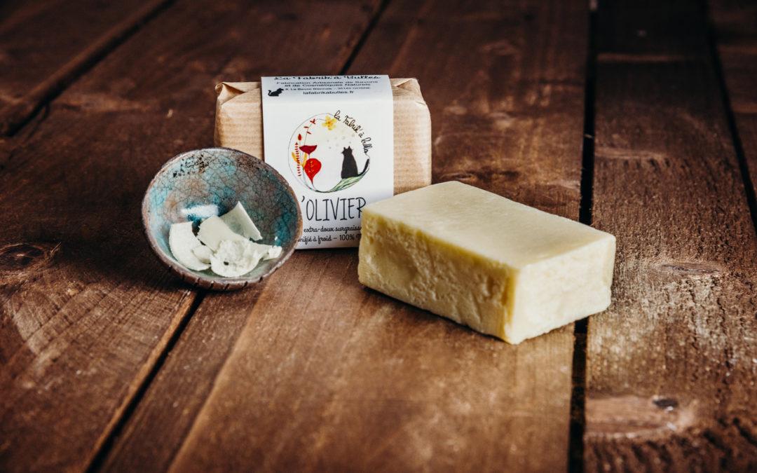 Photo de produits pour l'entreprise de fabrication de savon et cosmétique.