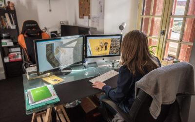 Reportage métier dans un atelier de création de scénographie