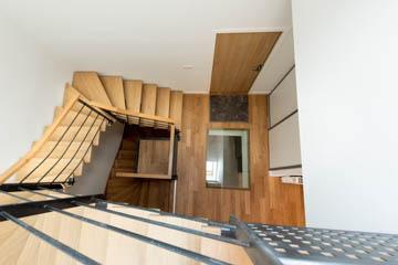 Photo d'architecture intérieur pour une maison rénové en centre ville de Rennes