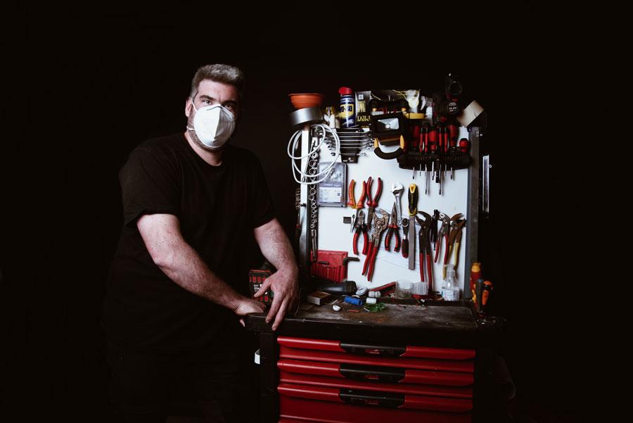 technicien de maintenance pportrait